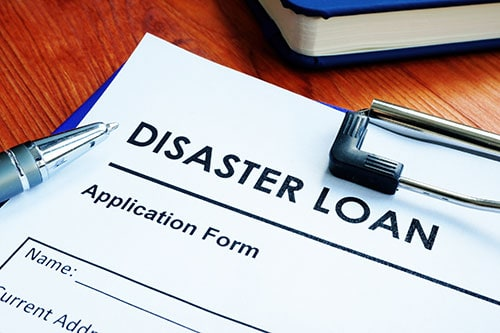 SBA Disaster Loan Application Form