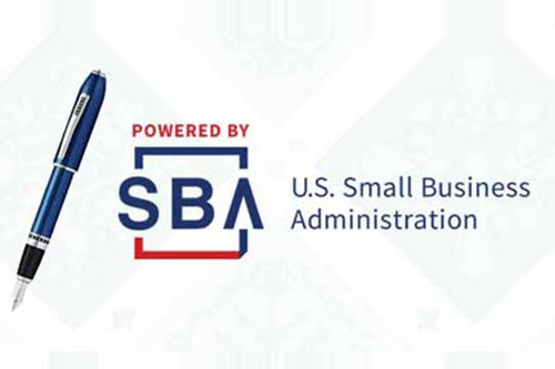 image - graphic with SBA logo and pen